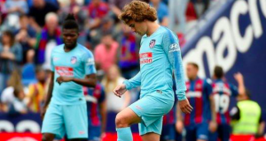 Griezmann booed by Atletico supporters