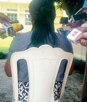 Victim narating her kidnap, rape ordeal