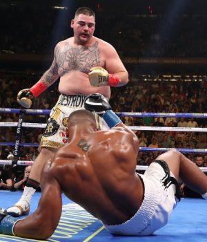 Andy Ruiz crushed Anthony Joshua