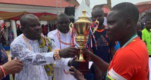 Winners of Amaseikumor Tournament 2019 organized by Gbaramatu Youth Council in Gbaramatu