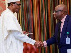 President Buhari and Justice Onnoghen