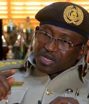 Comptroller-General of Immigration, Muhammad Babandede