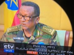 Gen Seare Mekonnen, chief of staff of the Ethiopian army,