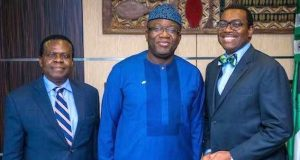 Gov. Fayemi and Dr. Akinwunmi Adesina