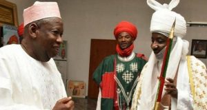 Gov. Ganduje and Emir Sanusi