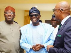 Govs Fayemi, Sanwo-Olu and Dapo Abiodun