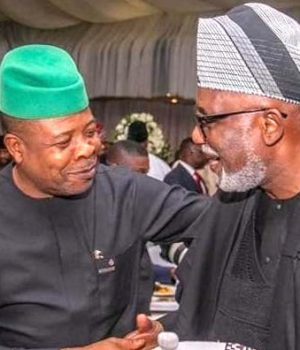Govs Ihedioha and Akeredolu