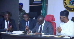 Gov. Sanwo-Olu signs 2019 budget