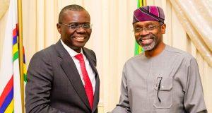 Gov. Sanwo-Olu and Speaker, House of Rep, Femi Gbajabiamila