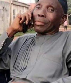 The late Ibrahim Linco Ocheje