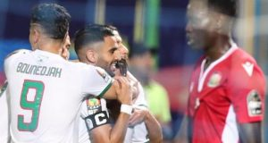 Mahrez scores as Algeria enjoy 2-0 win over Kenya