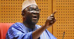 Speaker of the ECOWAS Parliament, Moustapha Cisse`Lo,