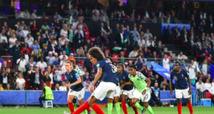 France have scored two penalties at the 2019 Women's World Cup - although this one had to be taken twice