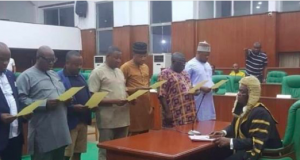 Nine Pro-Obaseki's lawmakers in secret inauguration