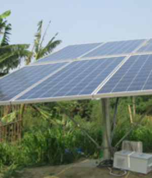 Solar powered water