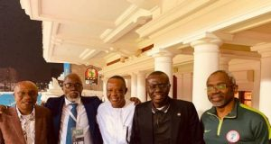 Gov. Sanwo-Olu, Speaker Gbajabiamila, CBN Gov. Godwin Emefiele and others in Egypt