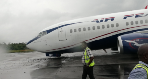 Air Peace makes hard landing