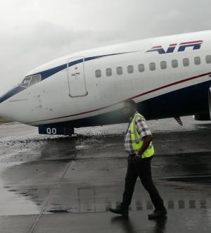 Air Peace makes hard landing