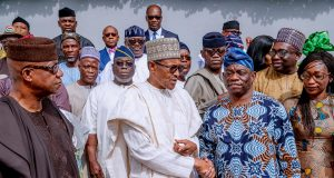Buhari with Ogun leaders