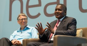 Dangote and Bill & Melinda Gates foundations