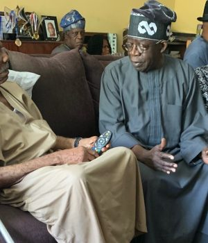 Fasoranti with Tinubu and Akande in Ondo