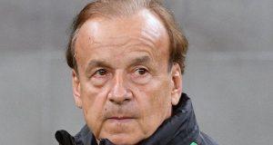 Gernot-Rohr, Super Eagles coach
