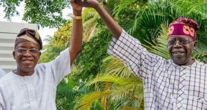 Gov. Gboyega Oyetola and Bola Tinubu