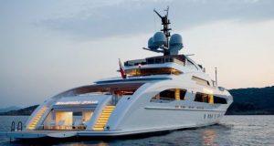 Kola Aluko's Galactica Star super yacht