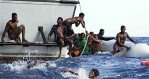 African migrants to Europe