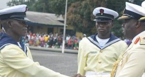 Nigerian Navy recruits