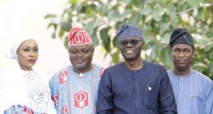 Obasa, Gov. Sanwo-Olu and dep. Dr. Obafemi Hamzat
