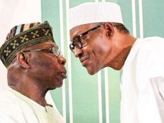 Obasanjo with Buhari