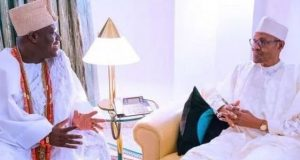Ooni of Ife and President Buhari