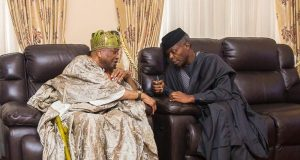 Osinbajo with Awujale Oba Adetona
