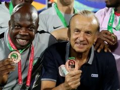 Gernor Rohr, Super Eagles' coach