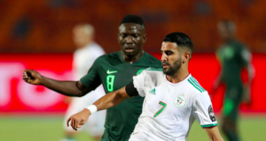 Mahrez scores the deciding goal
