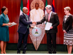 Signing of power generation agreement with Siemens