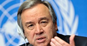 Antonio Guterres, United Nations Sec. Gen
