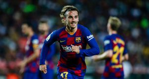 Antoine Griezmann held sway in Messi-less Barca