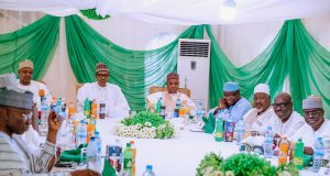 Buhari and APC Govs in Daura