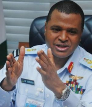 Chief of Air Staff, Air Marshall Sadique Abubakar