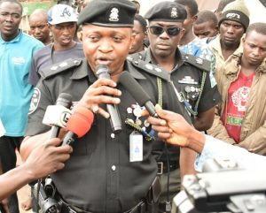 Chairman of the Lagos State Task Force, CSP Saheed Egbeyemi