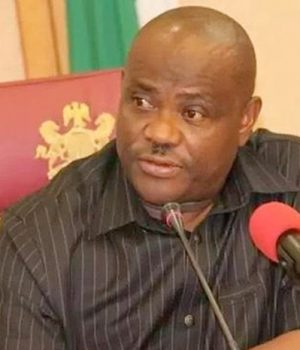 Gov. Nyesom Wike of Rivers