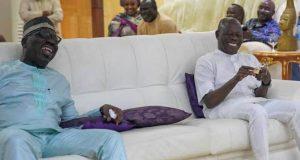 Governor Obaseki visits Adams Oshiomhole
