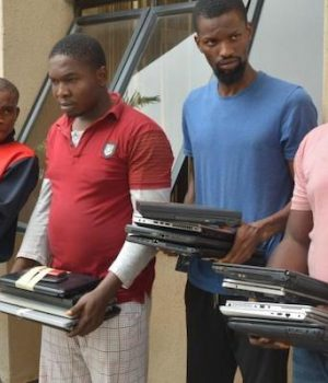 Alleged internet fraudsters