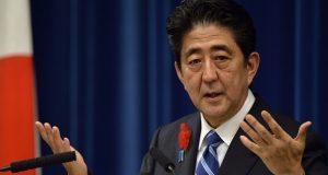 Japanese PM, Shinzo Abe
