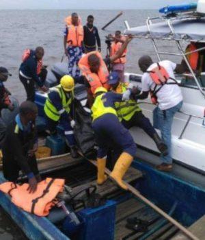 LASWA rescue boat-in-action
