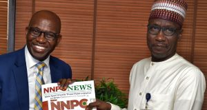 NLNG Boss, Tony Attah and Mallam Mele Kyari of NNPC