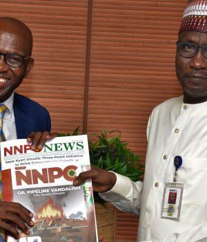 NLNG Boss, Tony Attah and Mallam Mele Kyari of NNPC