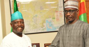 NOSDRA DG, Idris Musa with NNPC GMD Male Kyari
